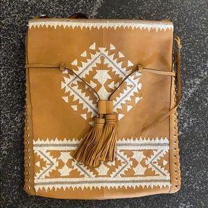 Rebecca Minkoff Crossbody Bag with tribal pattern